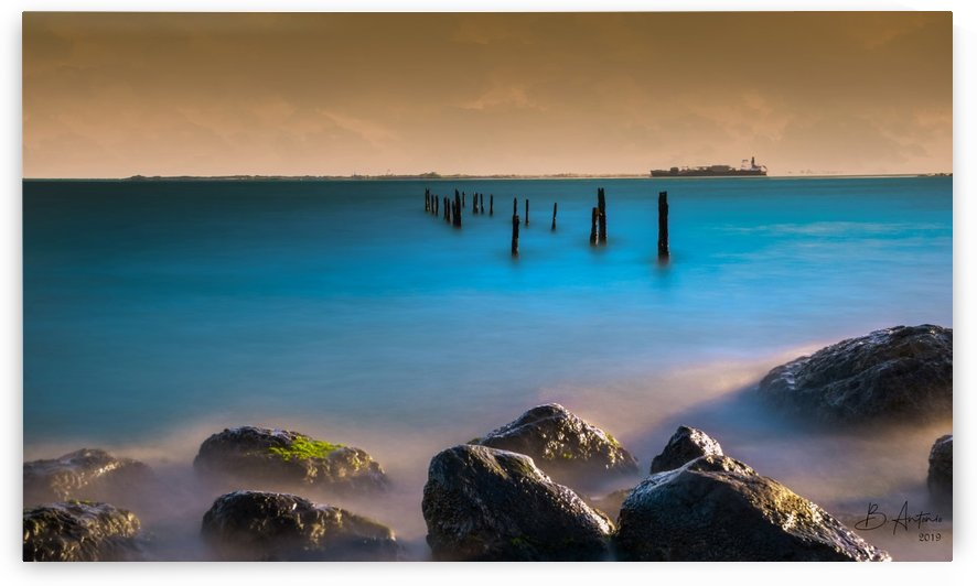 Rocky Kingston Waterfront by Bevan Antonio