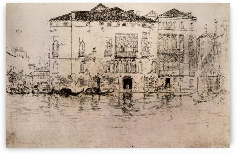 The Palaces by Whistler by Whistler