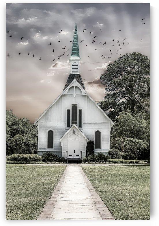 Chapel in Monochrome by Darryl Brooks