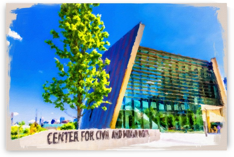 Center for Civil and Human Rights by Darryl Brooks