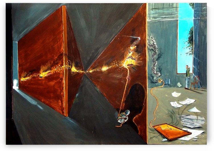 inner dialogue  by Lazaro Hurtado