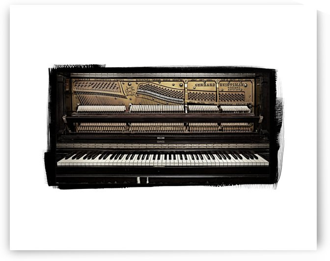 Piano II by Pat Chuprina