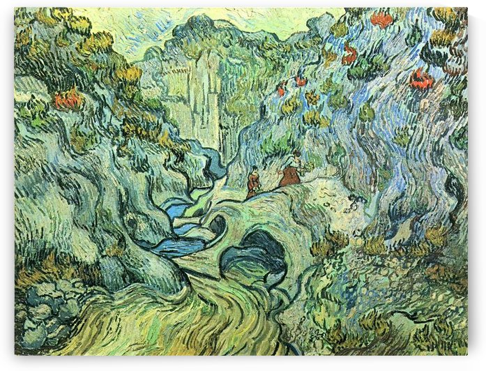 The Ravine by Van Gogh by Van Gogh