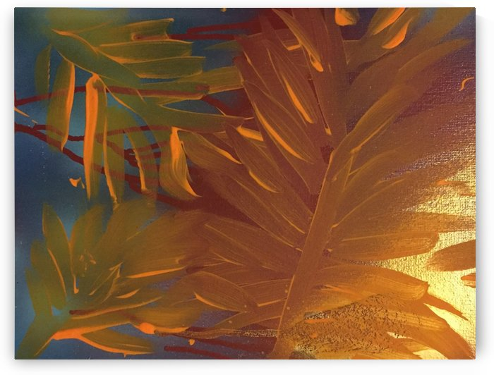 THE LEAF OF LIGHT by behzad masoumi