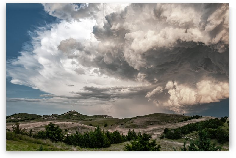 Big Mouth Thunderstorm by Garald Horst