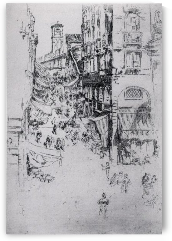 The Rialto by Whistler by Whistler