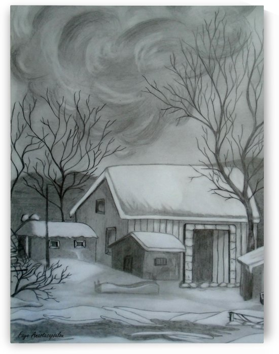 Winter Scene by Faye Anastasopoulou