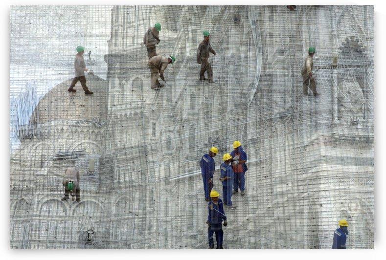 Duomo vs Building Museum by Luiz Lima