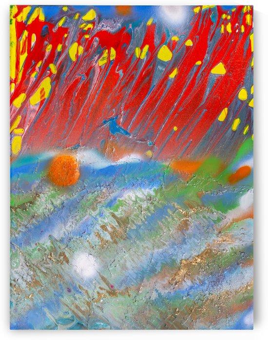 STRAWBERRY SUNSET by behzad masoumi