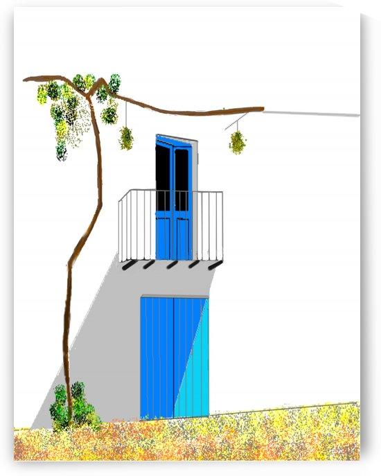 Mediterranean House  by ANA BORRAS