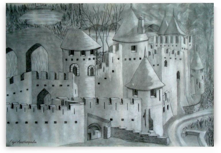 View Of A Castle by Faye Anastasopoulou