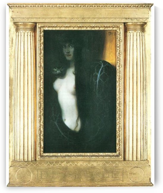 The sin by Franz von Stuck by Franz von Stuck