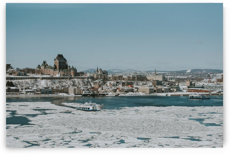 Vieux-Québec en hiver by StephanieAllard