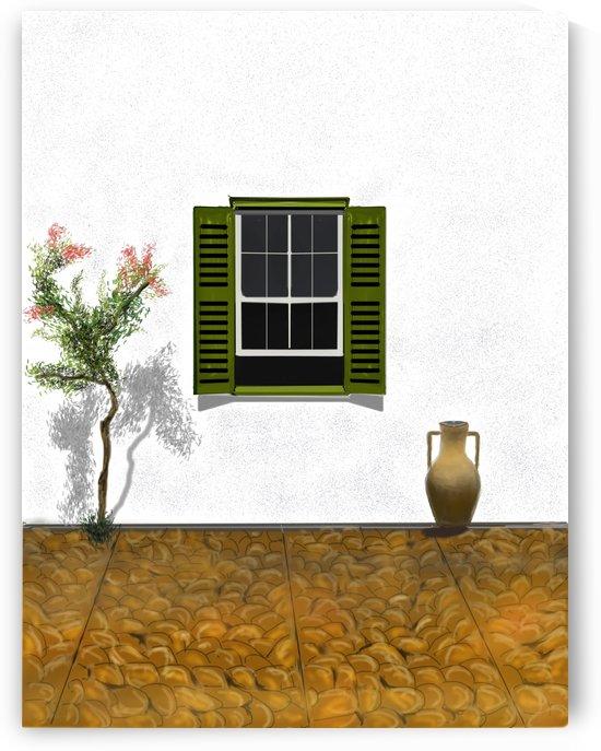Mediterranean Window by ANA BORRAS