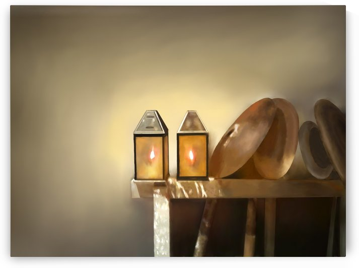 Table and lanterns by ANA BORRAS