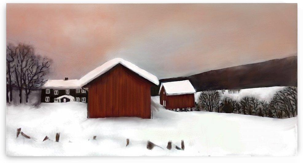 WINTER LANDSCAPE by ANA BORRAS