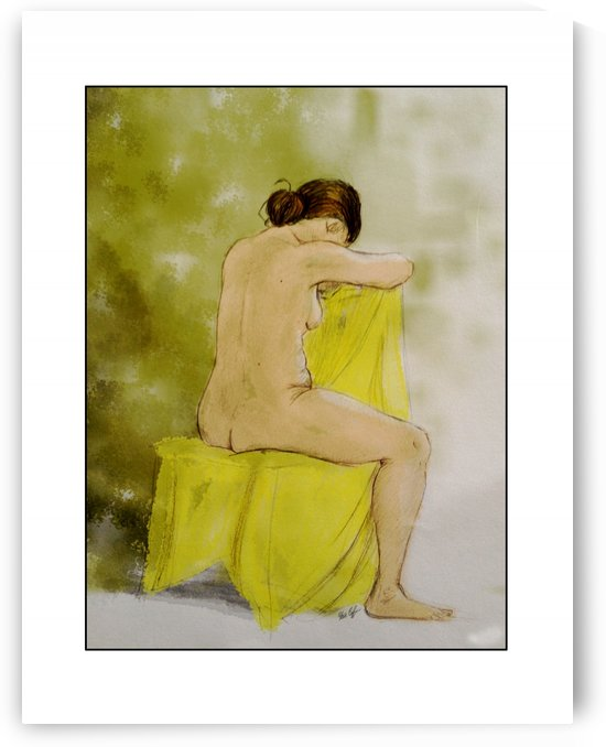 Seated Nude Karen by Steve Coffin