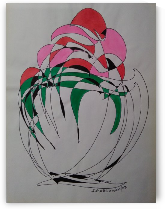VASE WITH FLOWERS by SCHOTTLENDER