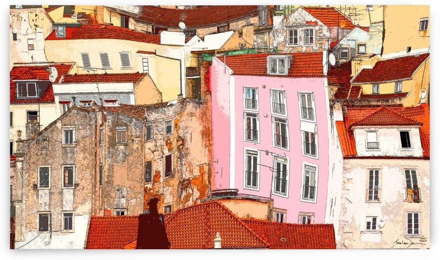 Lisbonne - Alfama by Jean-Louis Desrosiers