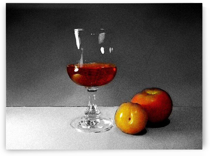 Wine and Fruits by ANA BORRAS