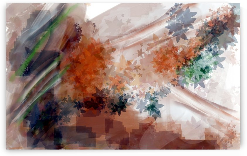 Abstract Leaves by ANA BORRAS
