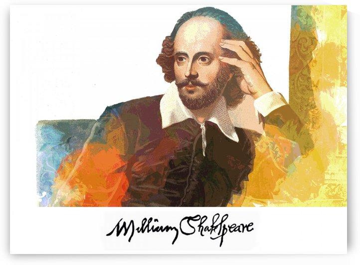 William Shakespeare by ANA BORRAS