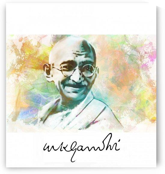 Gandhi by ANA BORRAS