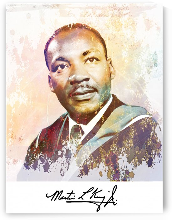 Martin Luther King by ANA BORRAS
