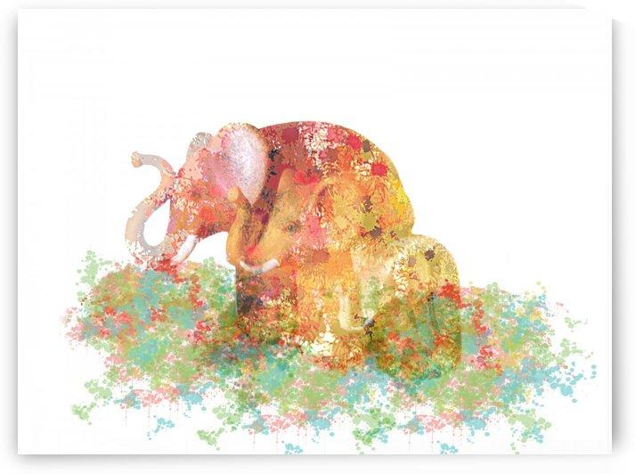 Lucky Elephants by ANA BORRAS