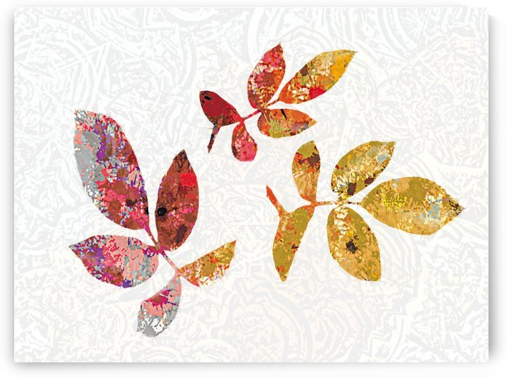 Colorful Leaves by ANA BORRAS