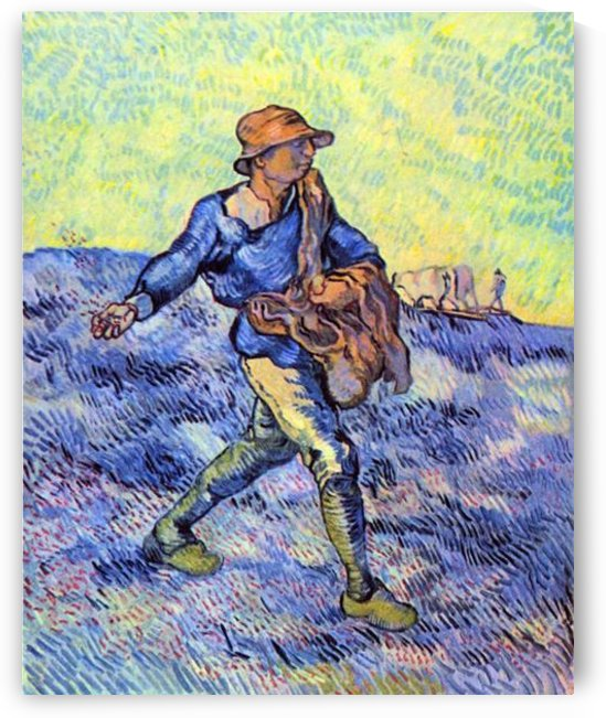 The Sower 1 by Van Gogh by Van Gogh