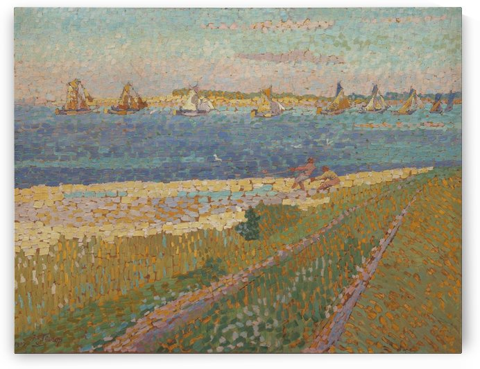 The Schelde near Veere by Jan Toorop