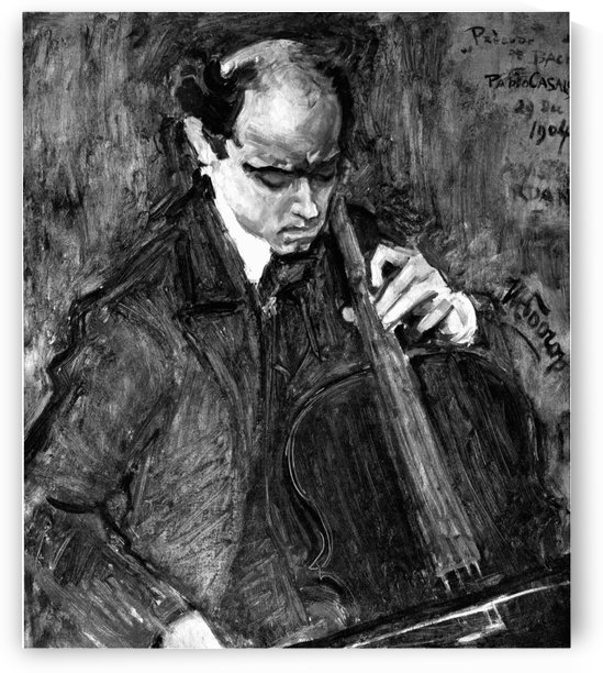 Pablo Casals by Jan Toorop