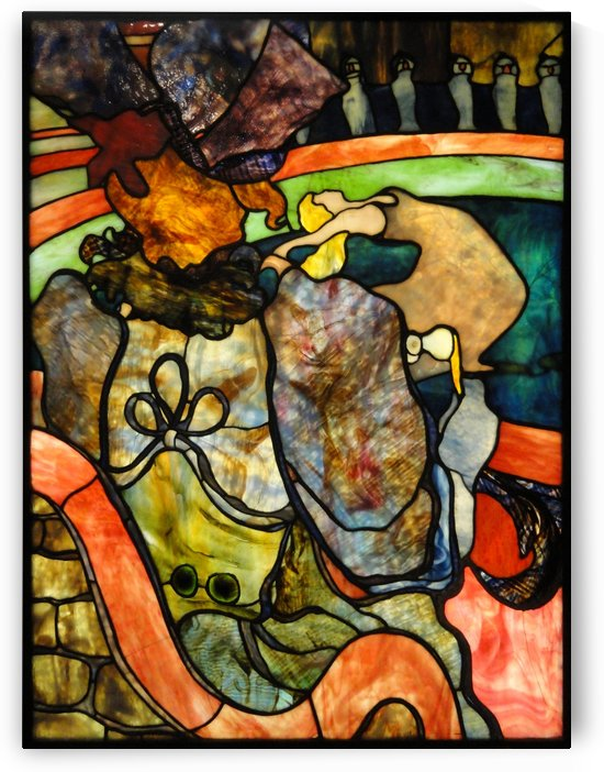 Louis Comfort Tiffany by Henri de Toulouse-Lautrec