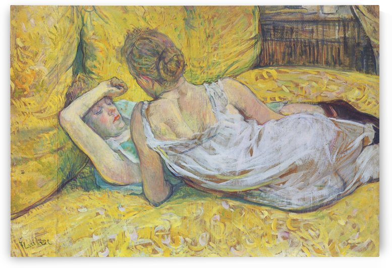 Abandonment the pair by Henri de Toulouse-Lautrec