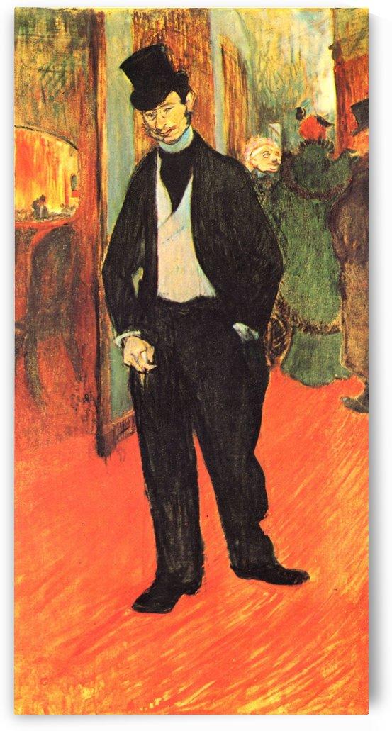 Michel Tapie by Henri de Toulouse-Lautrec