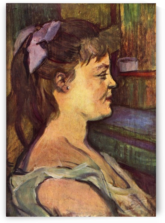 House wife by Henri de Toulouse-Lautrec