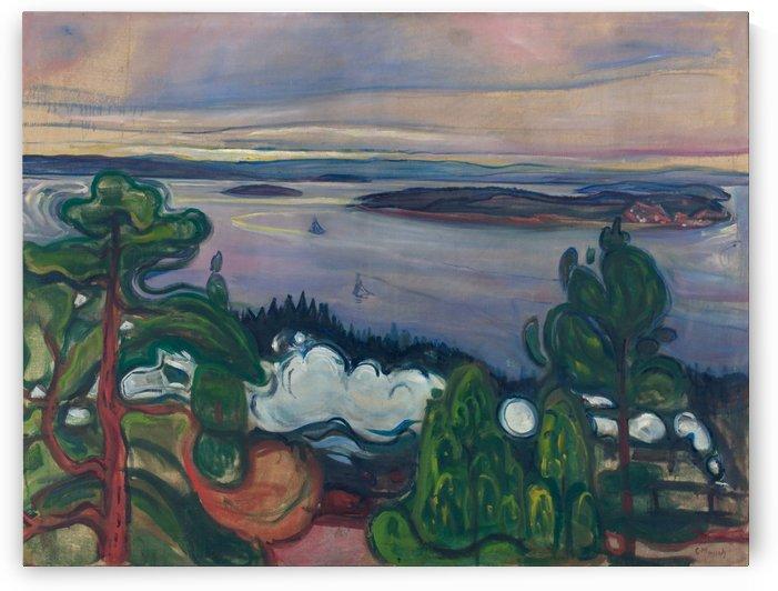 Train Smoke by Edvard Munch