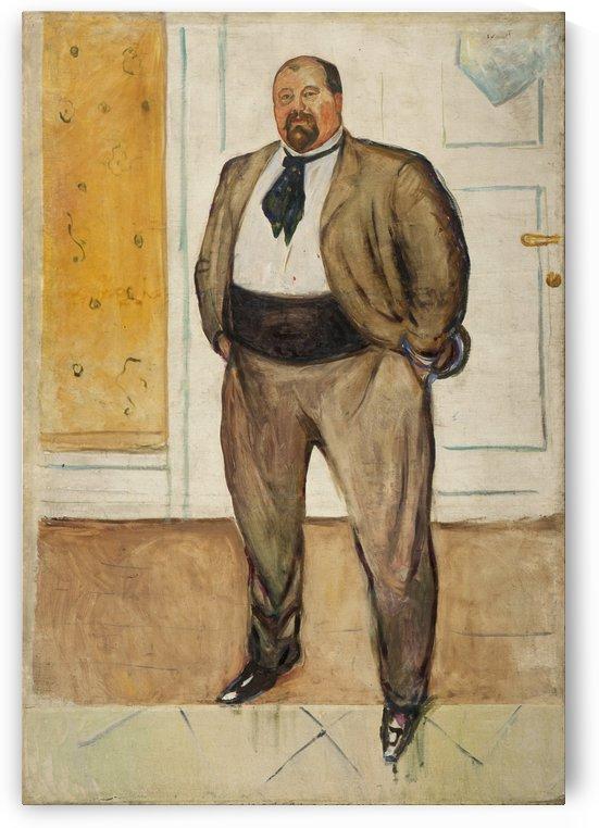 Consul Christen Sandberg by Edvard Munch