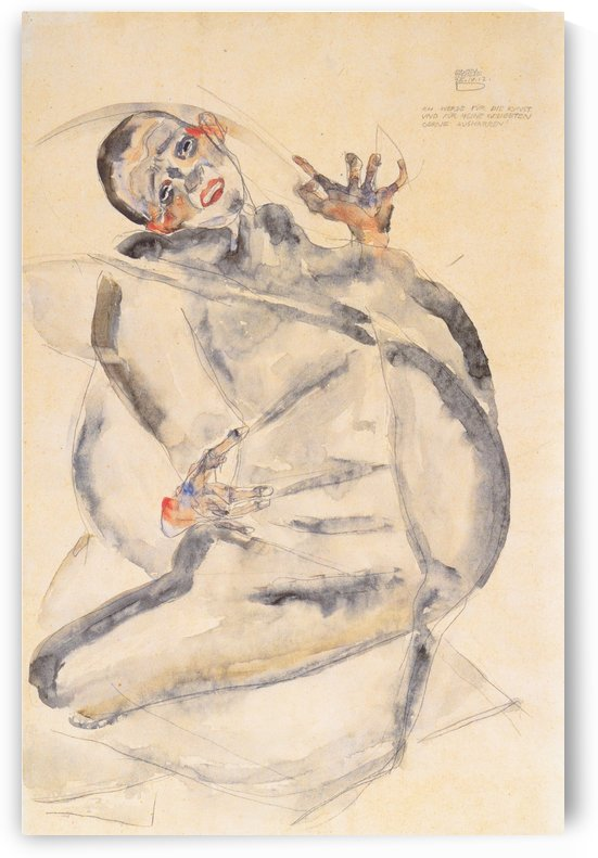 Kunst und meine Geliebten by Egon Schiele