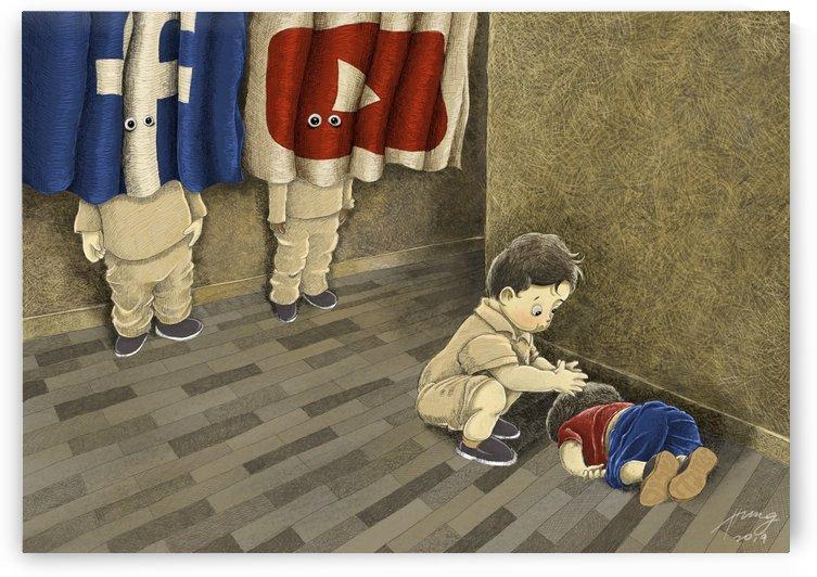 The good samaritan by Vern Hung