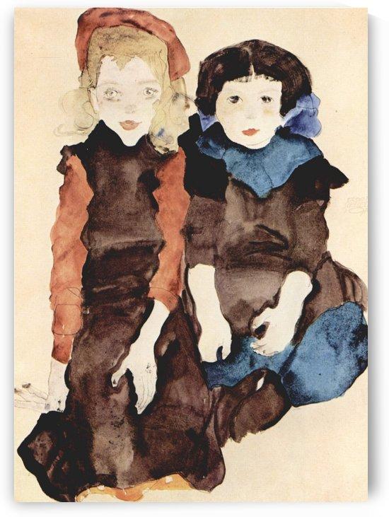 Children by Egon Schiele