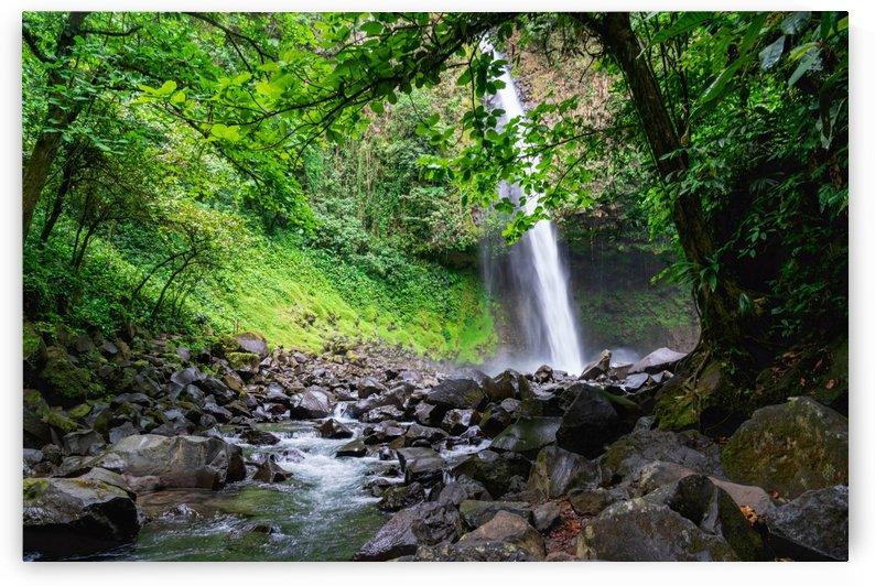 La Fortuna Waterfall Up the Creek 2 by Peter Kaple