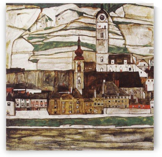 Stein an der Donau by Egon Schiele