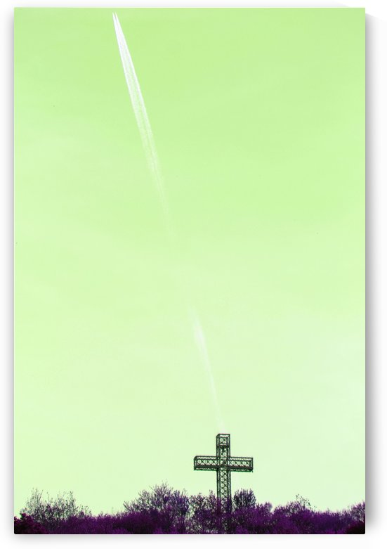 Up and Away Green Sky by Irritated Eye