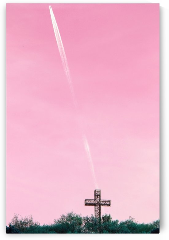 Up and Away Pink Sky by Irritated Eye