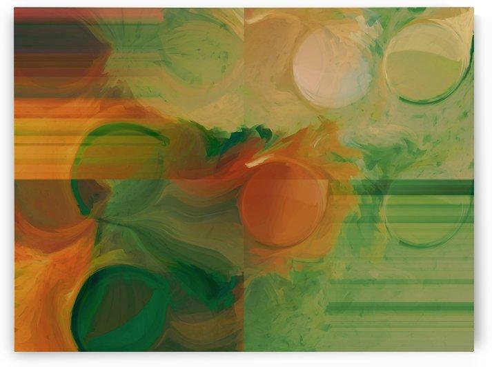 Orange Shapes by ANA BORRAS