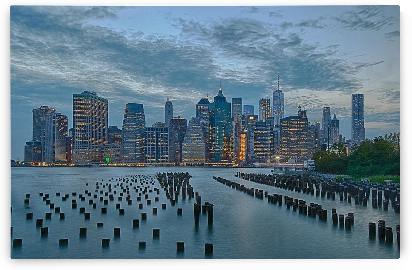 Manhattan in the evening by Cristian Grigore