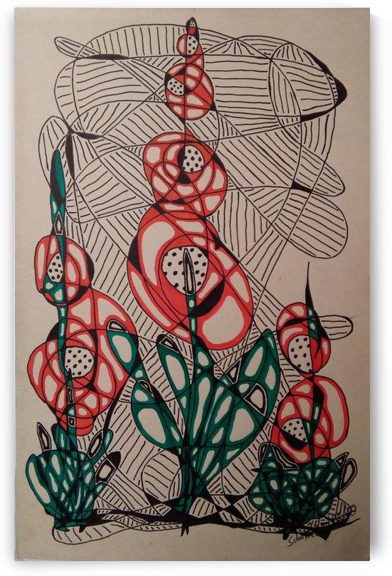 THREE FLOWERS by SCHOTTLENDER