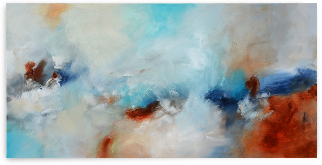 Abstract 04 - Landscape  by Andrada Anghel